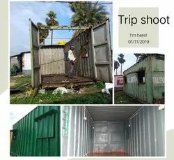 mdf roof and wall Repair Service, container