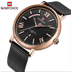 Men Round Naviforce Global NF3006 Collection, For Formal