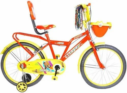 59bf43869 Shiva Little Kid 20t SS Red Yellow Bicycles