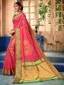 Art Silk Weaving Saree With Blouse Piece,5.5mtr