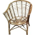 Universal Furniture Brown Set of 2 Bamboo Cane Chair
