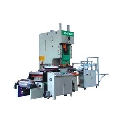 Automatic Aluminium Foil Container Making Machine, Production Capacity: 40-50 Container Per Minute