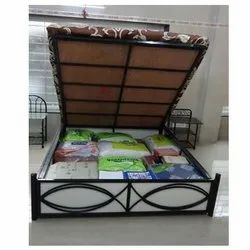 Ply Top Hydraulic Openable Double Bed