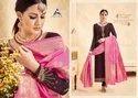 Amira Vol 8 By Alisa Satin Georgette Salwar Kameez With Banaras Dupatta