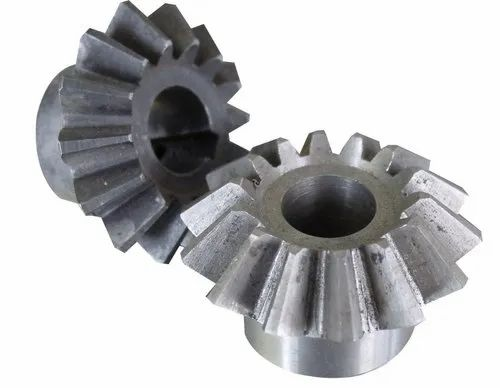 Grey Round Miter Gears, For Automobile Industry