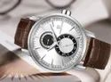 Round Brown Nf3005 Naviforce Date Function Luxury Chronograph Watch