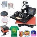 Color Printing 250 5 In 1 T Shirt Printing Machine, Model Name/number: New Model, Capacity: 220v