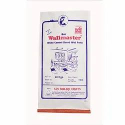 Wall Master White Cement Based Wall Putty, Packaging Size: 40 Kg