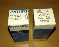 Glass Philips 6V 30W 5761 G4 Low Voltage Lamp