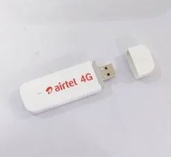 Usb Dongle Refurbished Airtel E3372 4G LTE Unlocked Data Card (White), Upto 150 Mbps