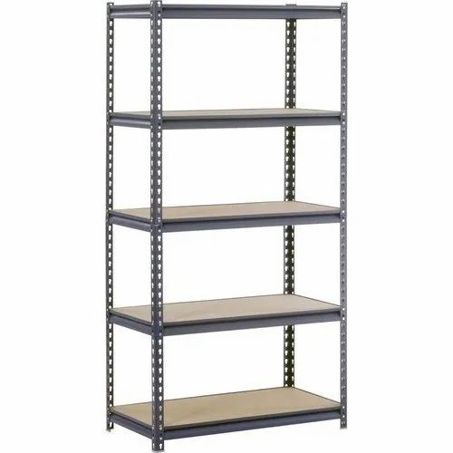 MS Slotted Angle Steel Rack
