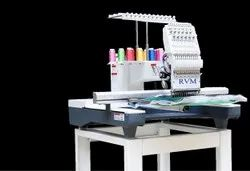 RVM Boutique Single Head Computer Embroidery Machine For Blouse And Kurti