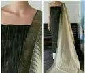 Jute Organza Dress Material With Kota Temple Border Dupatta