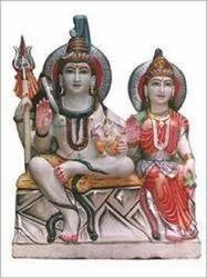 Gauri Shankar Ji Marble Statues