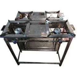 Four Burner Gas Stove, Packaging Type: Box