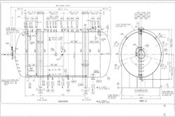 Tank Vessel Fabrication Drawing