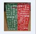 Christmas hand made paper bag