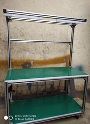 TESTING TABLE TROLLEY