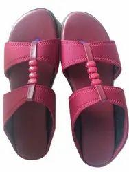 Plain With Beeds Flats & Sandals Pradnya Office Wear Chappal, Size: 36-42