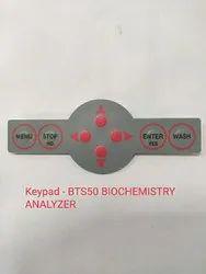 BTS 350 biochemistry Analyzer- keypad
