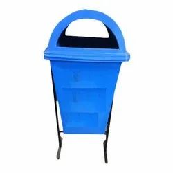 Road Side Bin with Stand ( Single )