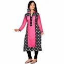 Ladies Full Sleeve Printed Kurti