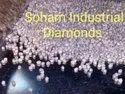 Process Round industrial diamonds