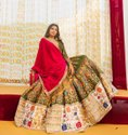 Printed Wedding Lehenga Choli