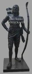 Black Marble Lord Parshuram Statue