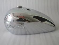 New Triumph T140 Chrome Gas Fuel Petrol Tank With Badges
