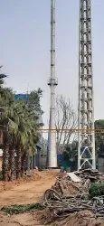 Mild Steel Aluminium Melting Plant Chimney Faridabad