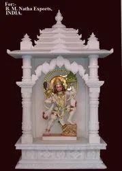 White Marble Hanuman Temple