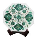 Natural Marble Inlay Work Plates