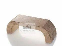 Granite Arch Garden Bench
