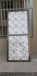 Golden Aluminium Bathroom Door