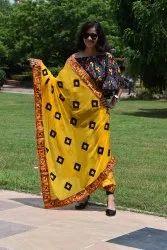 Designer Kathiwadi Embroidery Dupatta
