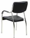Visitor Metal Chair in Black Colour
