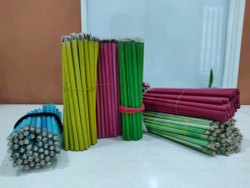 Multicolor Wood Plantable Seed Pencil