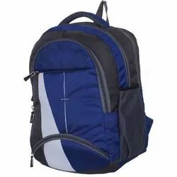 Polyester Plain School Bag, For College