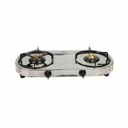 Gas Stove Steel 2 Burner