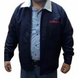 Full Sleeve Collar Neck Uniforms Winter Jacket, Size: M - XL