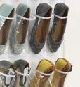 24 Pcs Door Hanging Shoes Organizer (325)