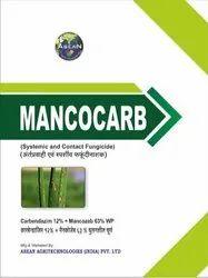 Mancocarb  (Carbendazim 12%   Mancozeb 63%) WP