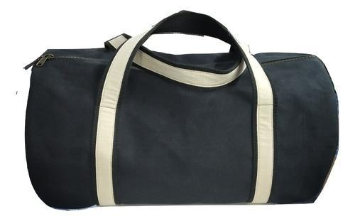 ea11d5428 Dark Blue Plain Waxed Canvas Duffle Bag, Rs 1350 /piece, Mon Exports ...