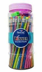 Black Multicolor Spartex Winner, For Writing
