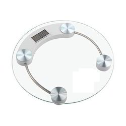 Toughened Glass AC110/220-240 V LCD Portable Personal Weighing Scale, Weighing Capacity: 150 Kg