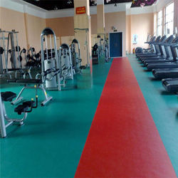 PVC Gym Flooring Service