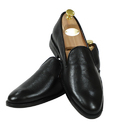Black Mens Formal Loafer Shoes, Packaging Type: Box