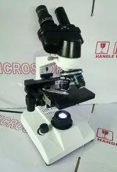 LED Binocular Laboratory Microscope