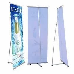 L-Stand Banner Display